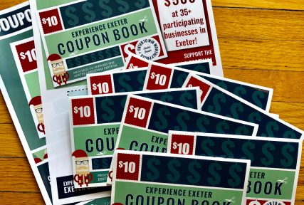 Experience Exeter Coupon Book 2018