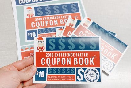 Exeter Coupon Books 2019