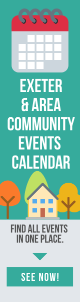 Exeter & Area Community Events Calendar Banner